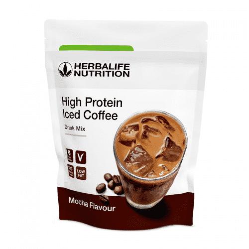 High Protein Iced Coffee – Mocha Geschmack
