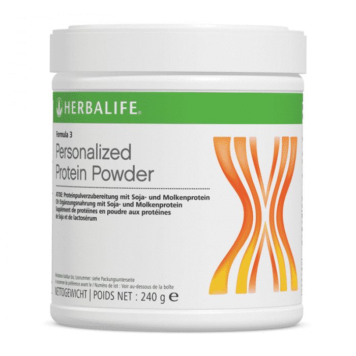 Formula 3 – Personalized Protein Powder
