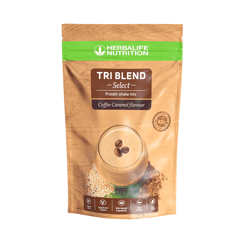 Tri-Blend Select Coffee Caramel