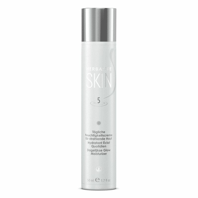Feuchtigkeitscreme für strahlende Haut