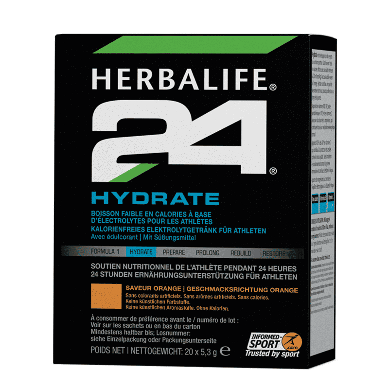 H24 Hydrate Orangengeschmack