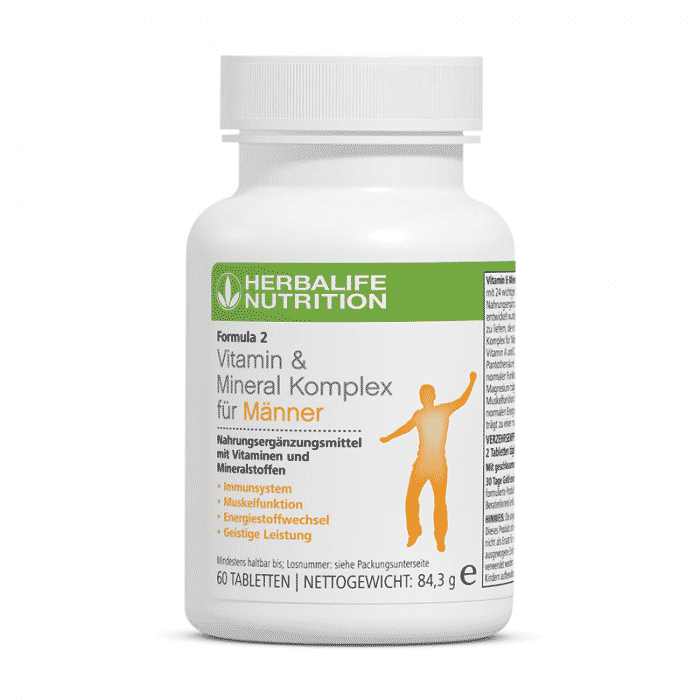 Vitamin & Mineral Komplex für Männer