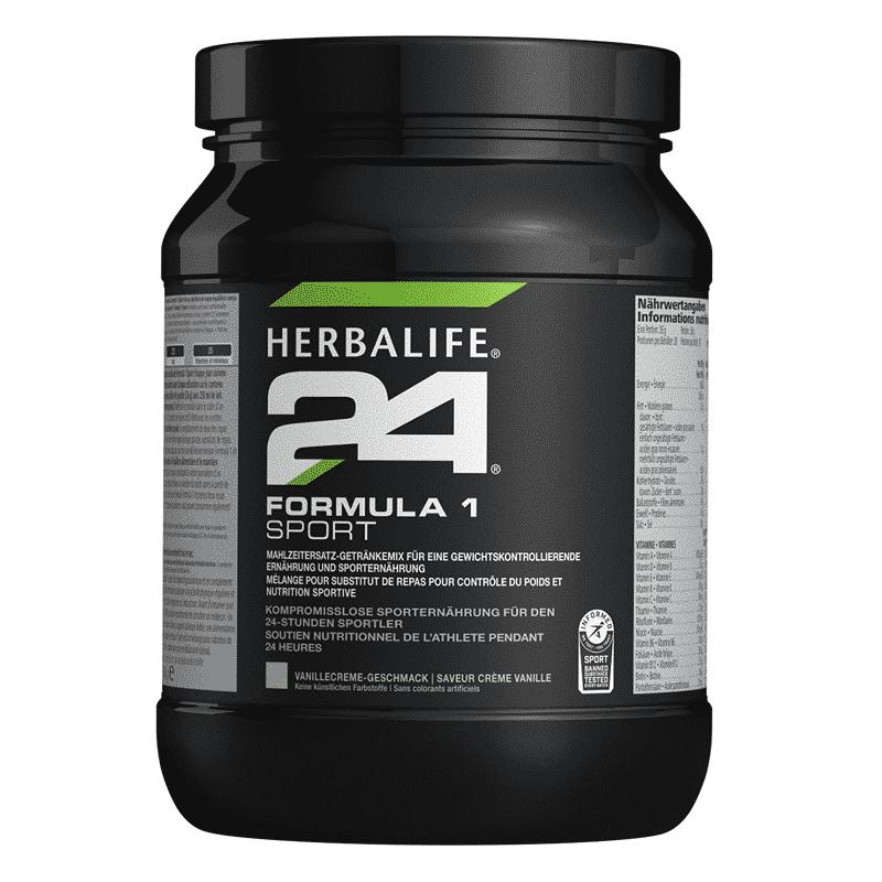 H24 Formula 1 Sport upgrade Vanilla Crème