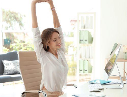 5 Übungen mit dem Stuhl