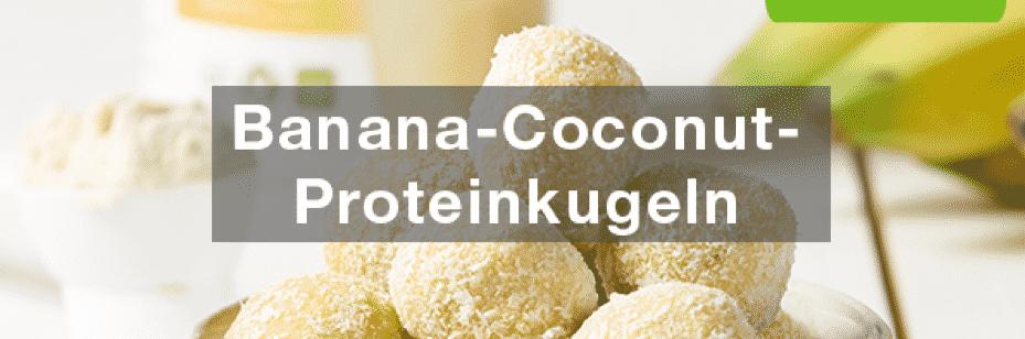 Banana-Coconut-Proteinkugeln