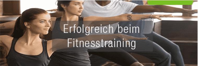 Erfolgreich beim Fitnesstraining