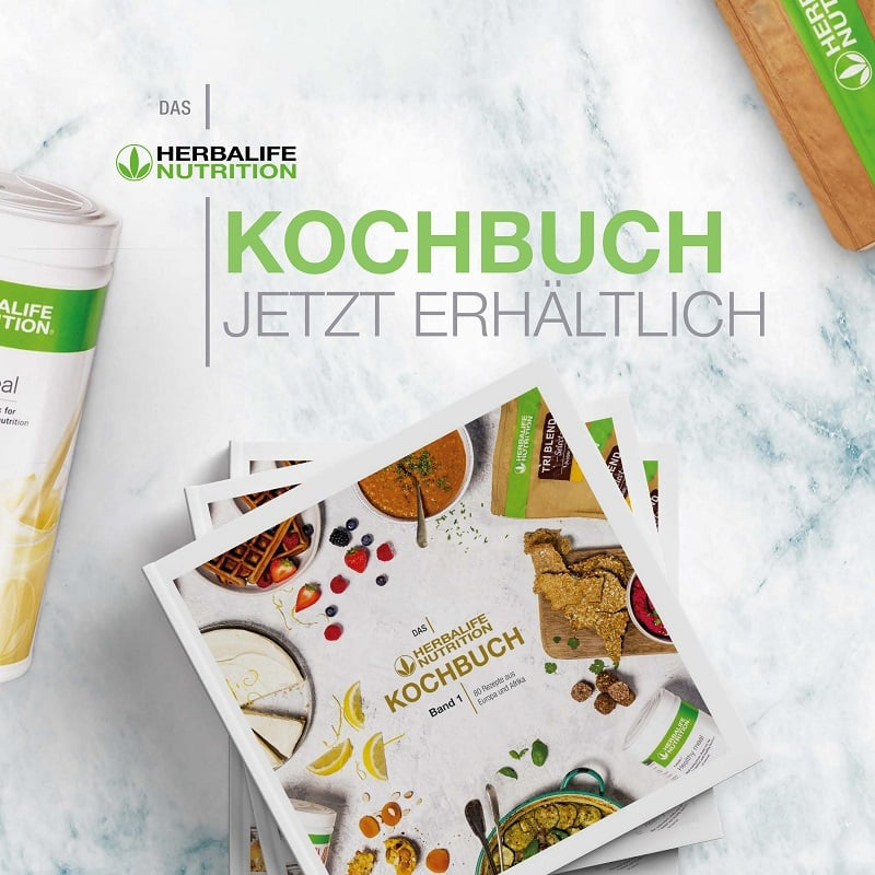 Herbalife Nutrition Kochbuch Band 1