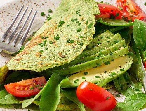 Spinat-Protein-Omelett