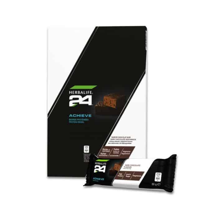 H24 Achieve Protein Riegel Dark Chocolate